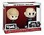 Funko Vynl: Star Wars - Darth Vader & Luke Skywalker - Imagem 1