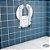 Assento Para Box Dobrável Carci P/ Banho Idoso Deficiente - Imagem 3