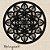 Mandala Clássica Emoldurada Lace Amor 120 cm em mdf cru - Imagem 1
