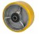 "Roda 3"" Poliuretano - 180Kg - Imagem 1"
