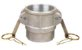 Acoplador Alumínio 1½x1½  fêmea/fêmea rosca interna - Imagem 1