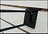 Gancho Preto Duplo Porta Etiqueta 5mm - Cx 25 Unid - Imagem 2