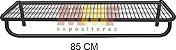 Prateleira com Cabideiro - 85 x 40 cm - Imagem 1
