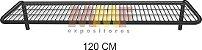 Prateleira Aramada Sem Cabideiro - 120 x 40 cm - Imagem 1
