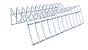 Suporte Para Pratos Vertical Essence - 17 x 7 x 17 cm - Imagem 2