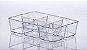 Organizador Diamond com Divisória - 25 x 6 x 18 cm - Imagem 2
