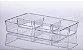 Organizador Diamond com Divisória - 34 x 6 x 24 cm - Imagem 2