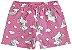 Pijama Infantil Unicórnio Rosa Brilha no Escuro 109270  - Imagem 3