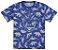 Pijama Verão Dinossauro Azul Brilha no Escuro Kyly 109290 - Imagem 3
