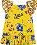 Conjunto Infantil Blusa + Short Viscose Amarelo Nanai 600051 - Imagem 4