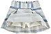 Conjunto Infantil Blusa Azul + Saia Short Milon  10810 - Imagem 3