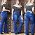 Calça Jeans Feminina Flare Plus Size Cintura Alta e Elastano - Imagem 1