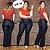 Calça Jeans Feminina Flare Plus Size Cintura Alta Clássica - Imagem 1