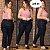 Calça Jeans Plus Size Cigarrete com Elastano e Cintura Alta - Imagem 1