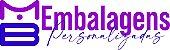 SACOLAS DE PAPEL ESPECIAL VERTICAL COM TAMPA PERSONALIZADAS -  MB EMBALAGENS PERSONALIZADAS - Imagem 1