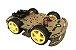 Kit Chassi Com 4 Rodas 4Wd Robótica - Imagem 1