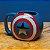 Caneca Capitão America 3D - Marvel - Imagem 1