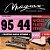 Encordoamento Guitarra Elétrica 0.9 Magma Ge120n Aço - Imagem 1