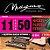 Encordoamento Guitarra Elétrica 0.11 Magma Ge160n Aço - Imagem 1