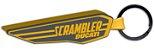 Chaveiro de borracha Scrambler Wing - Imagem 1