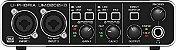 Interface de Áudio USB Behringer UMC202HD - Imagem 1