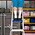 Escada de Alumínio 3 Degraus Uso Doméstico - MOR - Imagem 4