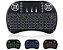 Controle Mini Teclado wireless Led Colorido Tvbox Android - Imagem 3