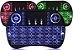 Controle Mini Teclado wireless Led Colorido Tvbox Android - Imagem 2