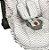 Capa Bebê Conforto com Protetor de Cinto e Babado  Chevron Cinza - Batistela - Imagem 2