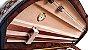 Estojo Violino 4/4 Extraluxe Meia-lua Xadrez  - Imagem 2