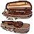 Estojo Violino 4/4 Extraluxe Meia-lua Xadrez  - Imagem 1