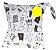 Saquinho Impermeável para fraldas ou roupas molhadas/sujas - Imagem 8