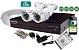 KIT 2 CÂMERAS EXTERNAS COMPLETO COM HD DE 500GB - Imagem 1