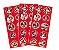 Adesivo Decorativo Redondo Red Minnie - Pack 03 Unidades - Imagem 1