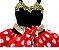 Vestido Minnie com renda infantil tam 8 - Imagem 2