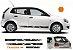 VW Polo Kit Adesivo faixa lateral e Traseira esportiva tuning G1 e G2 modelo VP1 Sport - Imagem 1