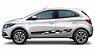 Onix e Novo PrismaAdesivo Lateral Os4 Sport Kit Faixa Adesiva Fita Colante Acessorio SRT Wolf 1 X11Auto - Imagem 4
