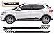 Argo Hgt 1.8 Faixa Lateral Acessórios  Adesivo Para Carro Fita Colante SRT Wolf 1 X11Auto - Imagem 1