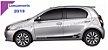 Etios Toyota Kit Faixa lateral ET3 adesiva tuning  acessórios Fita Colante SRT Wolf 1 - Imagem 1