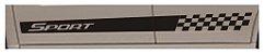 Kit adesivo faixa lateral Chevrolet Spin modelo SP5 Sport  - Imagem 3
