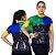 Camisa Ciclismo Sódbike Feminina Nações - Brasil Preta - Imagem 1