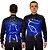 Camisa Ciclismo Sódbike NSA Azul Flanelada - Imagem 1