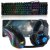 Kit Gamer Teclado Semi Mecanico Mousepad Mouse Headset 706 Dragon - Imagem 1