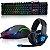 Kit Gamer Fone de Ouvido Headset 706 Dragon , Teclado Semi Mecanico e Mouse 7 Botoes X1 - Imagem 1