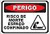 ESPAÇO CONFINADO ADESIVO OU PLACA - Imagem 1