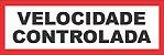 VELOCIDADE CONTROLADA REFLETIVO ANGLO AMERICAN - Imagem 1