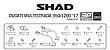 SUPORTE DE BAÚ LATERAL 3P SYSTEM D0ML97IF PARA DUCATI MULTISTRADA 950 E 1200 - Imagem 4