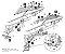 SUPORTE DE BAÚ LATERAL 3P SYSTEM W0FG88IF PARA BMW F 650, 700 E 800 GS - Imagem 4