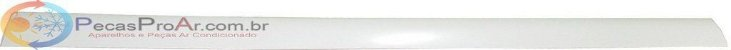 Direcionador De Ar Horizontal Superior Split Carrier Hi-Wall 42LUQA030515LC - Imagem 1