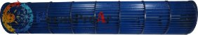 Turbina Ventilador Midea Eco Inverter Split Hi Wall 22.000Btu/h MSC22CRN1 - Imagem 1